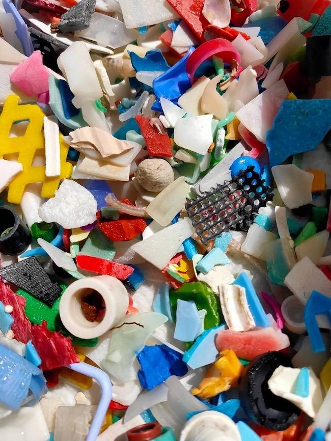 海の落とし物 海洋プラスチック